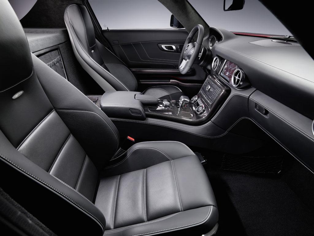 Mercedes SLS AMG interior Photo 5 5801