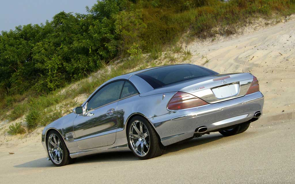 Renntech chrome mercedes sl600 photo 2 944 for Mercedes benz royale 600 price