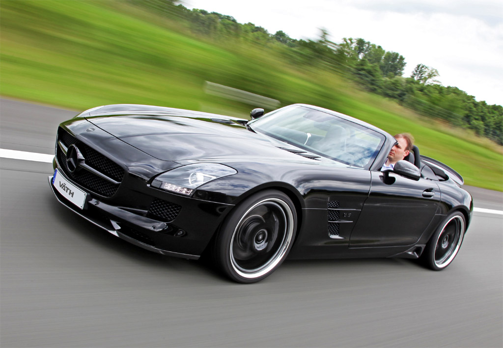 VATH Mercedes SLS AMG Roadster 4 on c63 amg convertible