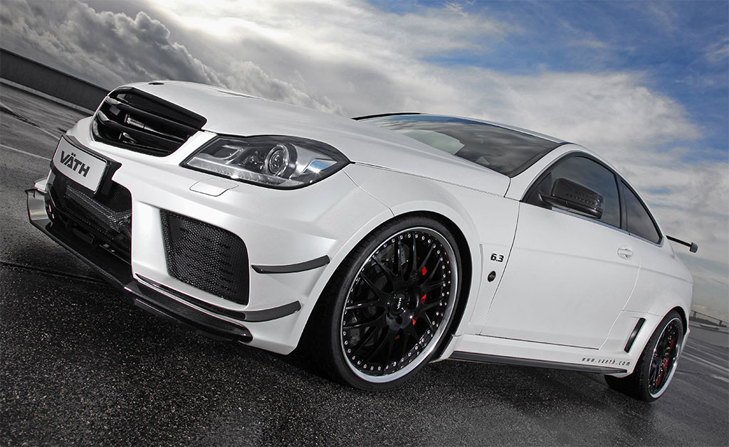 Vath mercedes c63 amg coupe black photo 1 12808 for Mercedes benz c63 amg black edition