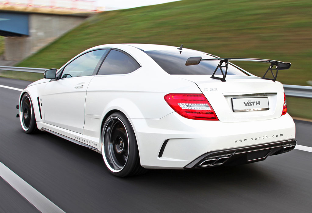 Vath Mercedes C63 Amg Coupe Black Photo 2 12808