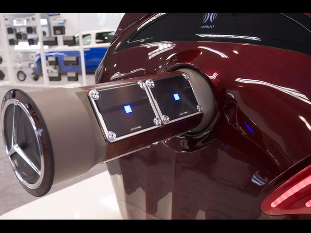 2007 alpine imprint rls mercedes r500 for Mercedes benz suicide doors