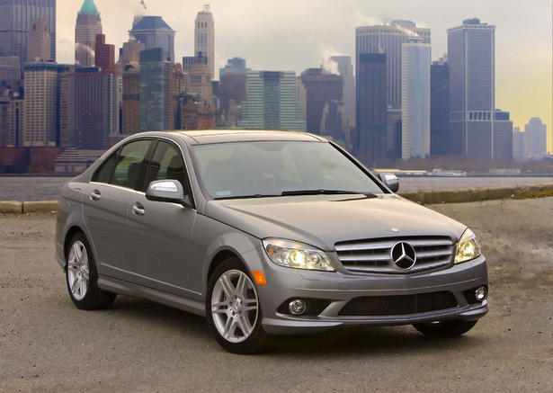 2008 mercedes c class price for Mercedes benz c service cost