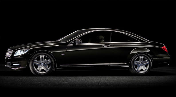 Mercedes W216 C216 CL Chrome headlamp surrounds set models TO 2011