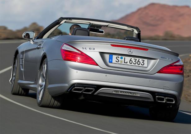 Mercedes SL63 AMG 2013
