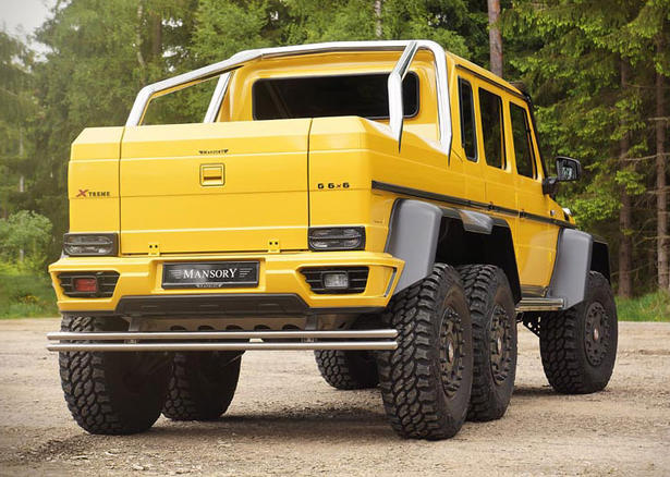Mansory mercedes g63 amg 6x6 for Mercedes benz g class 6x6 price