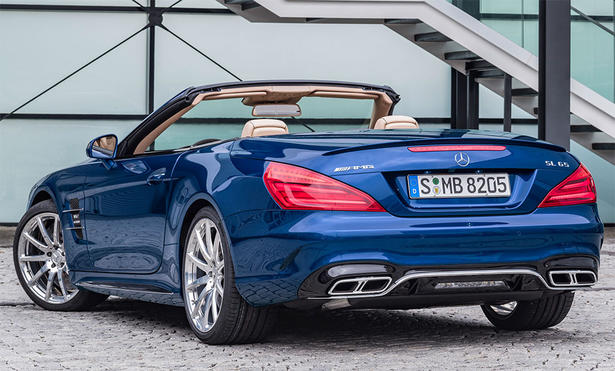 2018 Sl63 Amg >> 2016 Mercedes SL: Specs, Performance