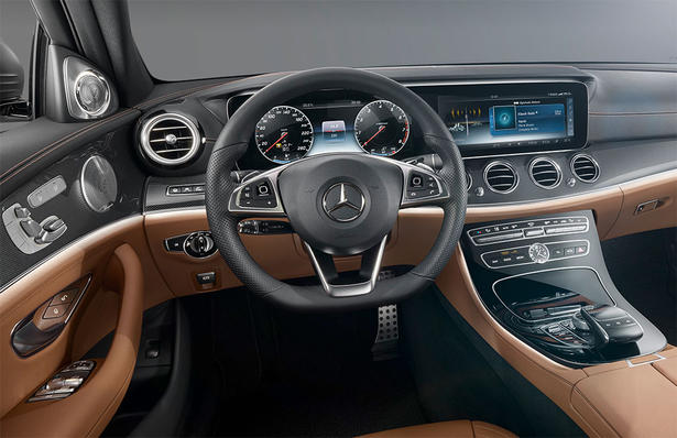 2017 mercedes e class interior revealed. Black Bedroom Furniture Sets. Home Design Ideas