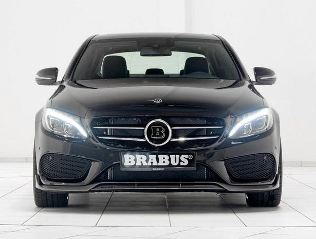 2014 Mercedes C Class Powerkit And Body Kit By Brabus