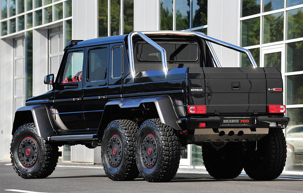 Brabus mercedes g63 amg 6x6 for Mercedes benz g class 6x6 price