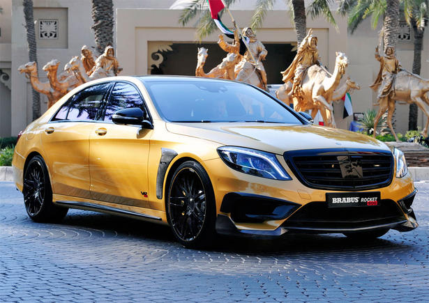 Brabus Mercedes S65 Amg Powerkit And Body Kit