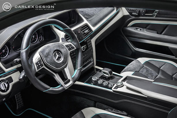 mercedes e class coupe f1 interior by carlex. Black Bedroom Furniture Sets. Home Design Ideas