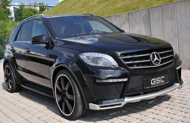 Gsc Mercedes Ml Widebody