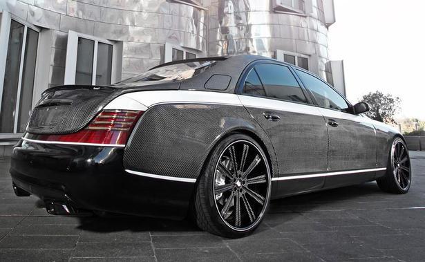 Knight Luxury Maybach 57s