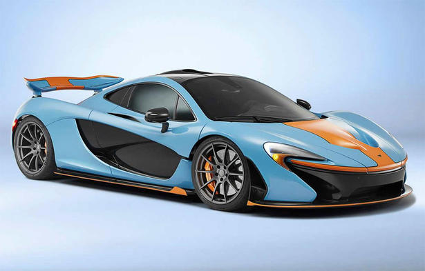 Mclaren P1 By Mso In Gulf Colors