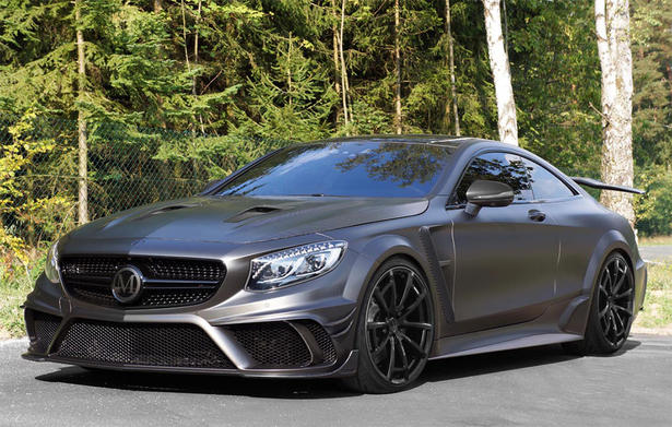 mercedes s63 amg coupe powerkit and body kit by mansory. Black Bedroom Furniture Sets. Home Design Ideas