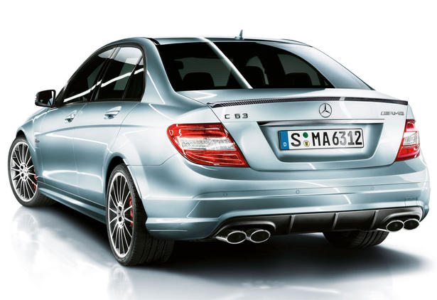 Mercedes C63 AMG Performance vs BMW M3 Competition Video