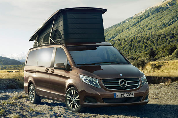 mercedes marco polo camper van. Black Bedroom Furniture Sets. Home Design Ideas