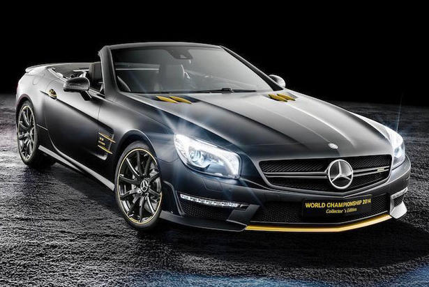 Mercedes Sl63 Amg Edition 1
