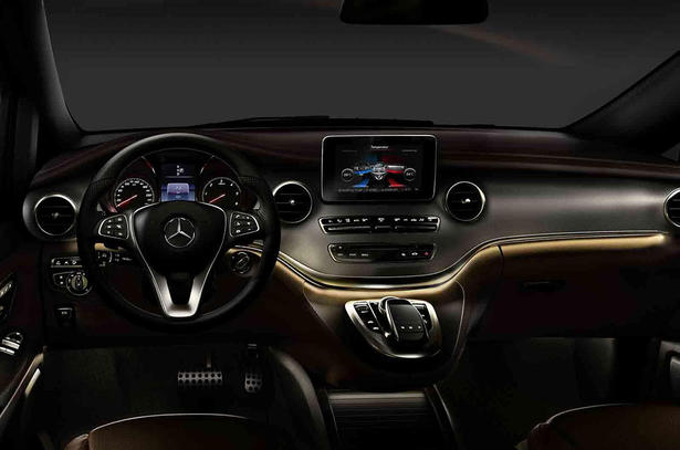 Mercedes V Class Interior 2