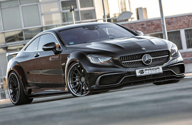 Mercedes s class coupe wide body kit by prior design - Mercedes c class coupe body kit ...