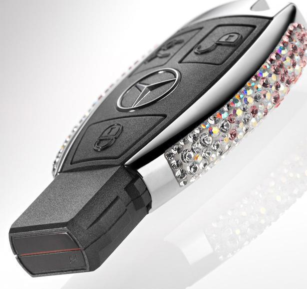 Swarovski Mercedes Keys