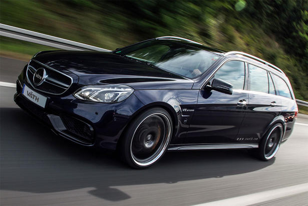 Mercedes E63 Amg Estate Gets 750 Hp Powerkit From Vath