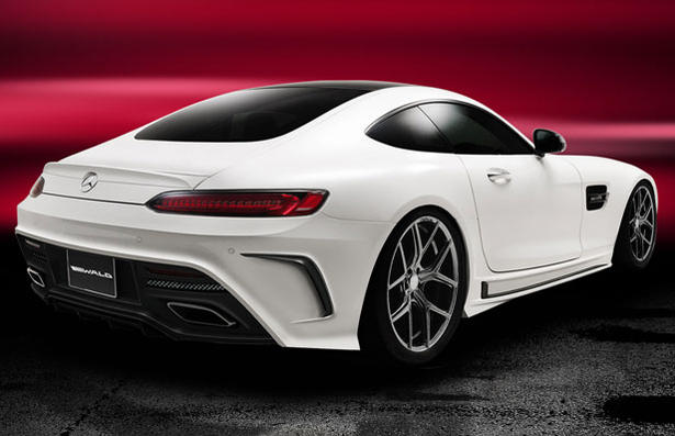 Mercedes Amg Gt Body Kit By Wald