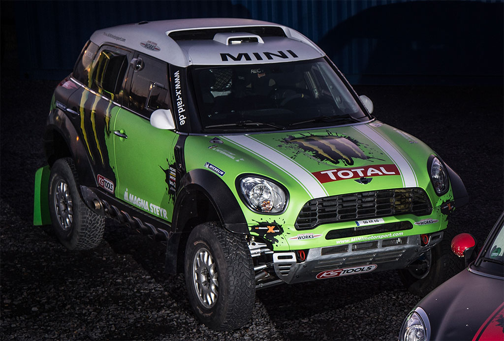 Mini Countryman Off Road Package 2