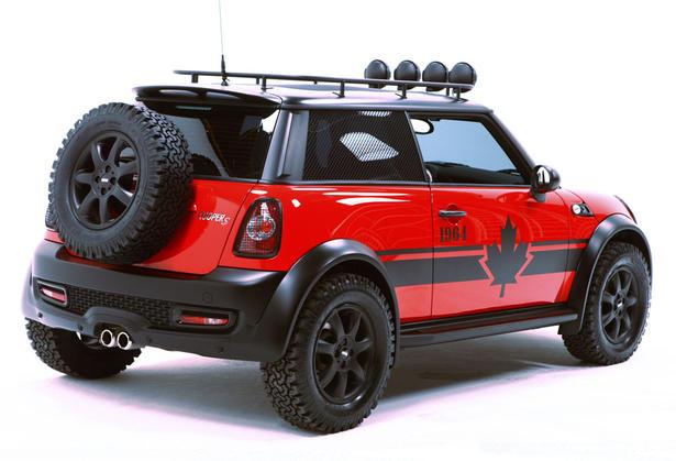 Offroad Mini Cooper >> DSQUARED2 MINI Cooper S Revealed