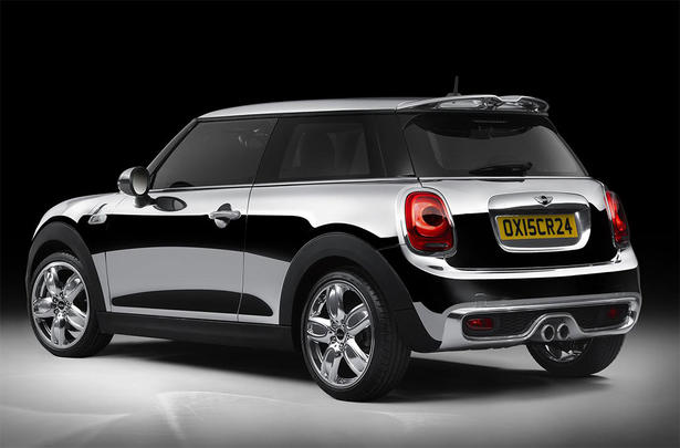 Mini cooper chrome line exterior deluxe for Chrome line exterieur bmw