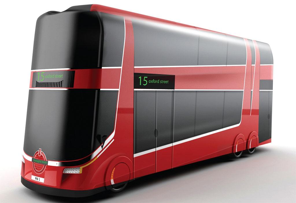 The Future British Bus Futuristic Bus