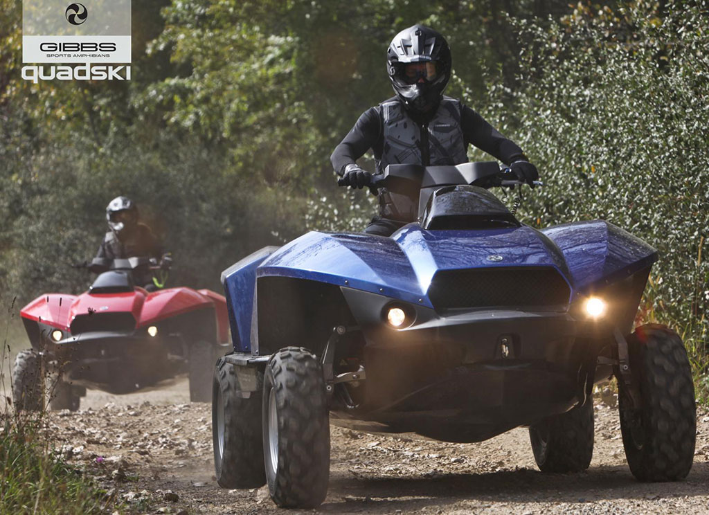 gibbs quadski amphibious atv photo 2 12612. Black Bedroom Furniture Sets. Home Design Ideas