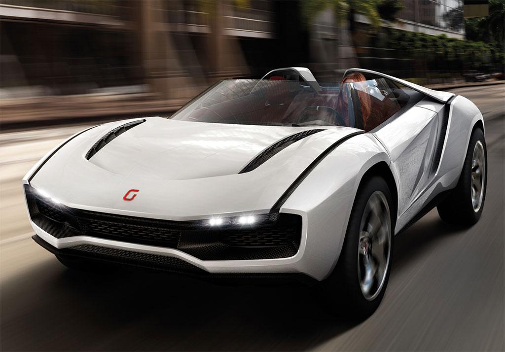 Italdesign Giugiaro Parcour Roadster Photo 1 13009