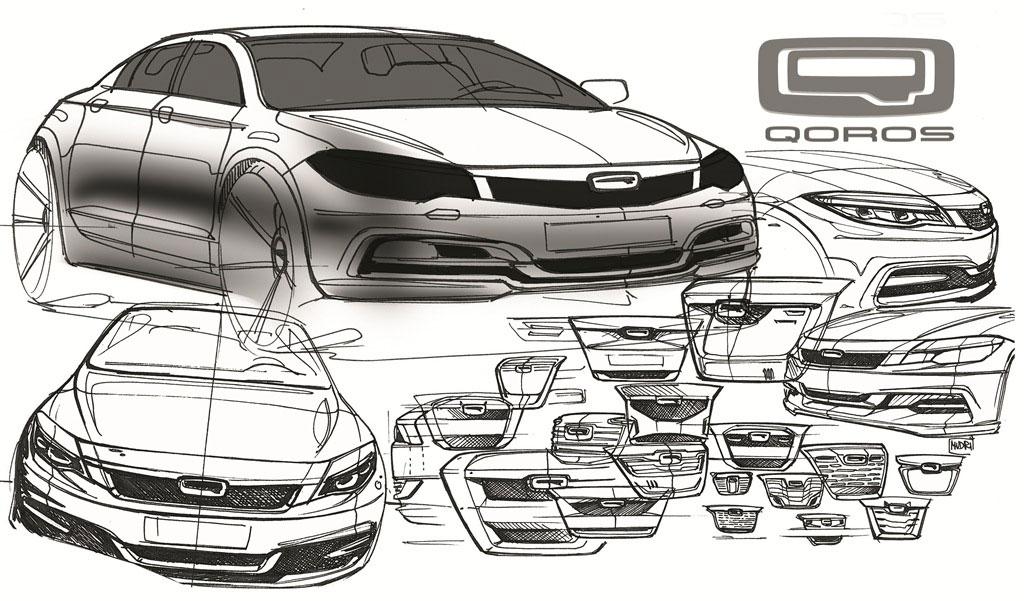 Qoros Sedan Sketch Photo 4 12785