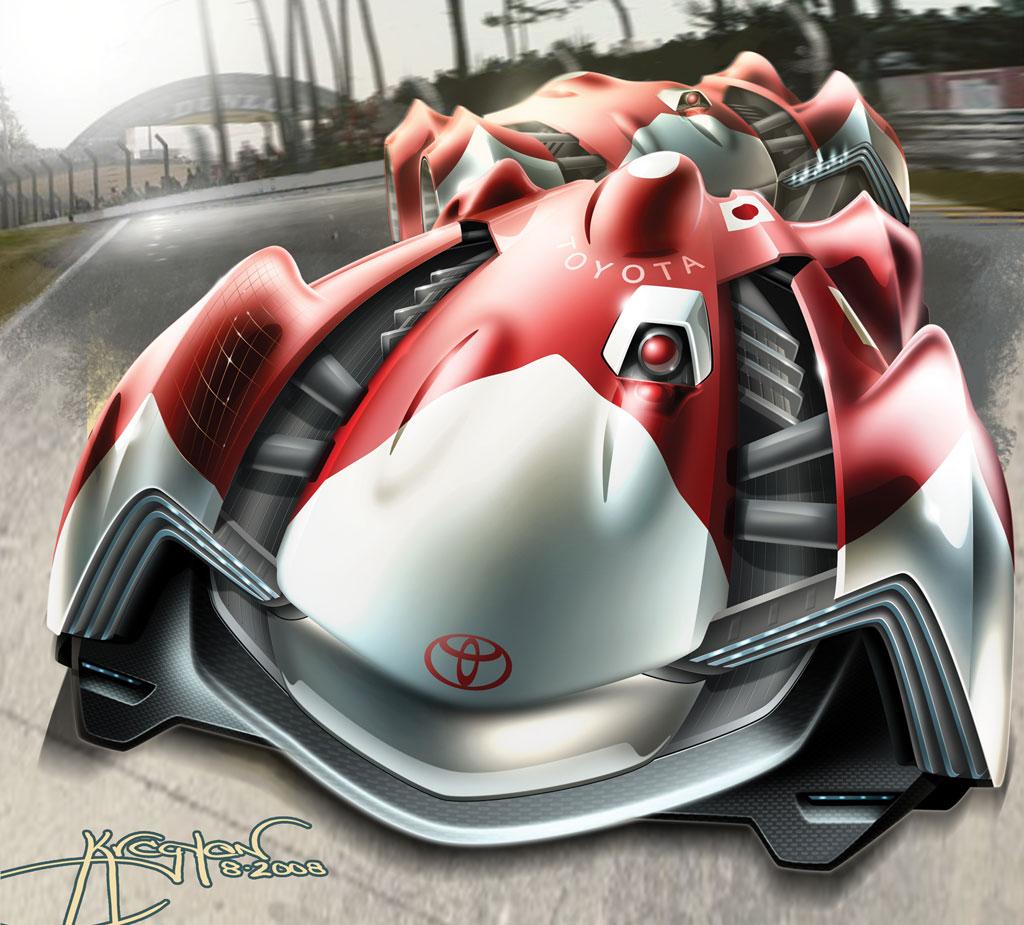 2013 Tesla Model S Transmission: Toyota Lemans Racer Photo 1 4532