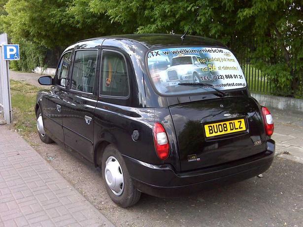 London Taxi Goes European