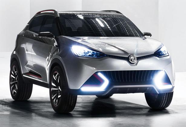 MG CS SUV Concept