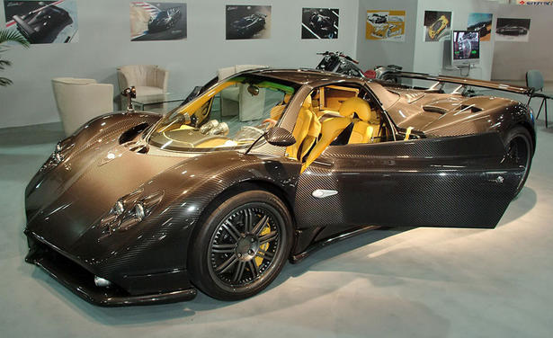 pagani zonda f carbon. Black Bedroom Furniture Sets. Home Design Ideas