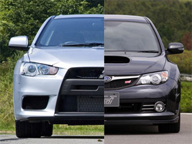 mitsubishi evo x vs 2008 subaru impreza sti top gear. Black Bedroom Furniture Sets. Home Design Ideas