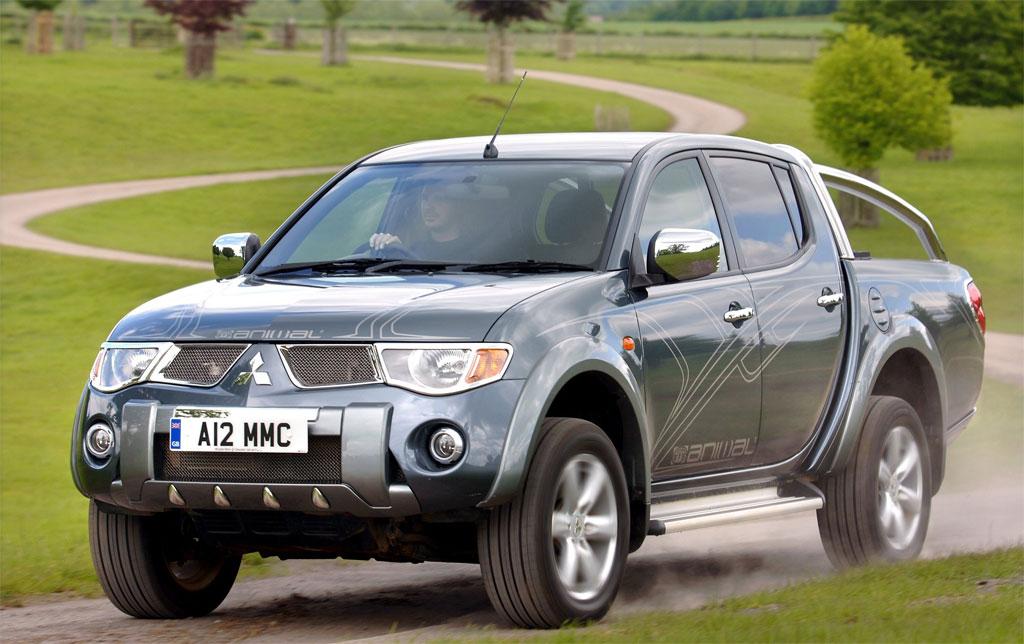 2008 Mitsubishi L200 Photo UK 2805