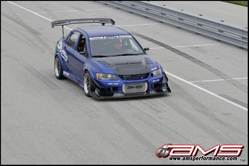 ams mitsubishi evo ix blue demon - Mitsubishi Evo 9 Blue