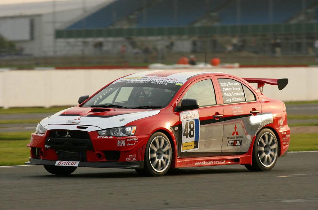 Mitsubishi Lancer Evolution X race car Photo 6 4265