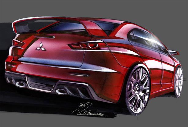 Evo XI Concept Renderings, Spyshoots, Teasers - EvolutionM - Mitsubishi Lancer and Lancer ...