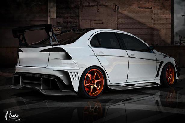 Vilner Mitsubishi Lancer Evo X