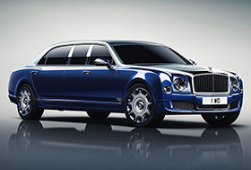 Mulliner Bentley Mulsanne Grand Limousine Photos