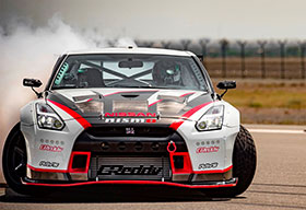 Nissan GT R Nismo Sets Fastest Drift World Record Photos