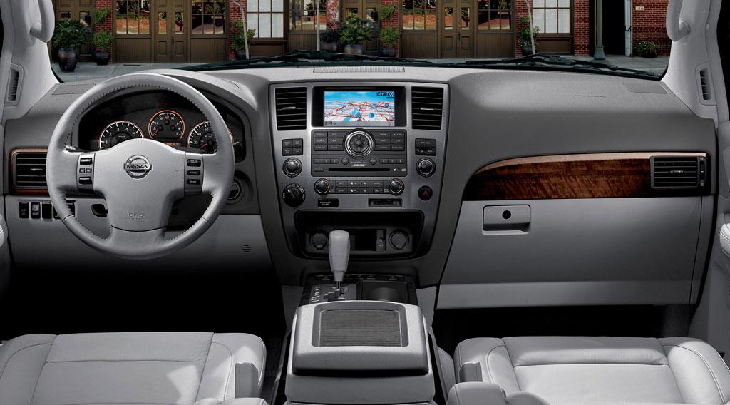 Nissan Armada 2010 White. (2010 nissan armada 1 )