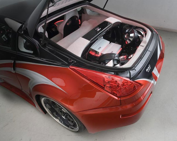 nissan 350z stereo replacement