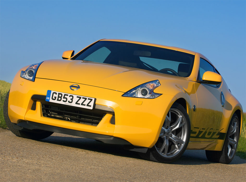 Nissan 370z Yellow Photo 1 6152